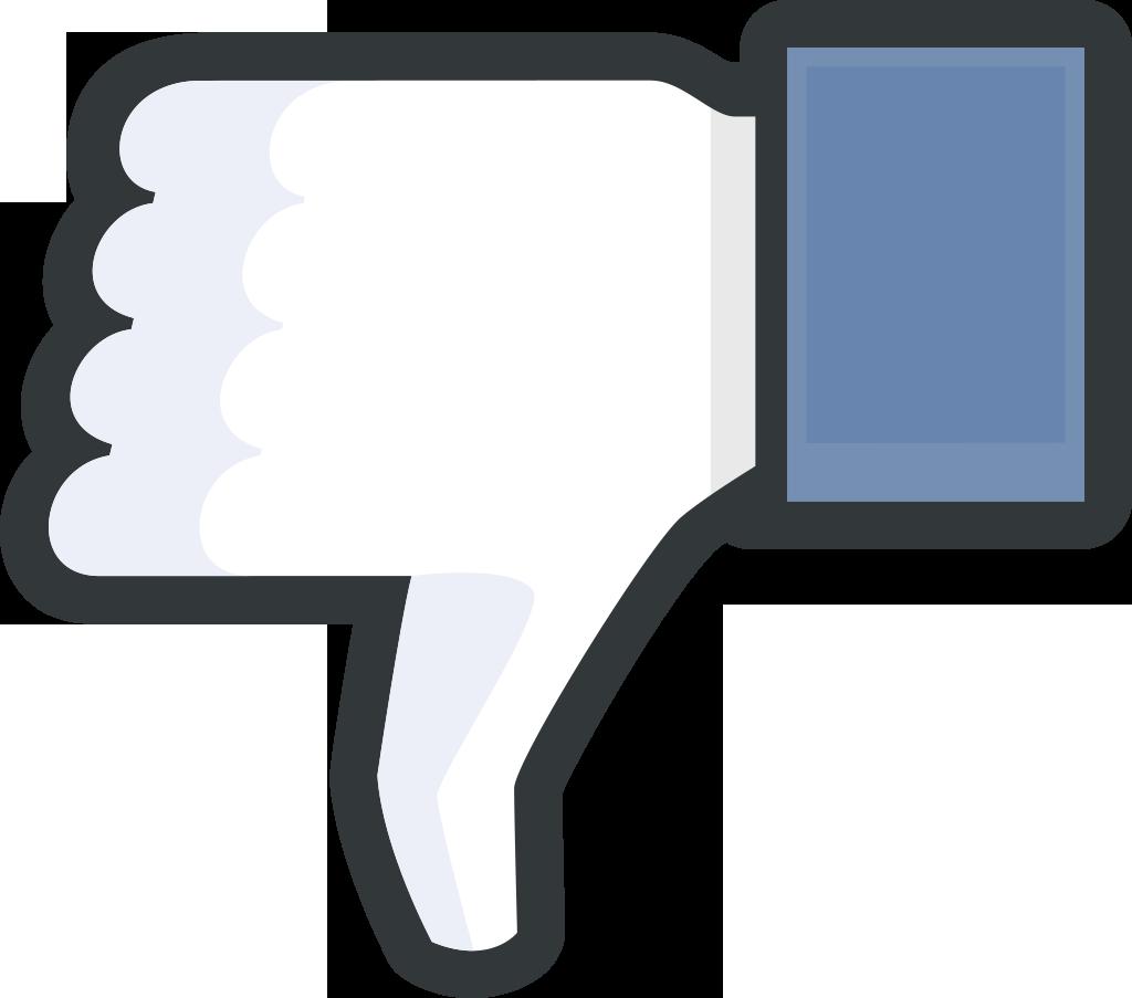 Facebook-ThumbsDown | Freezer Media