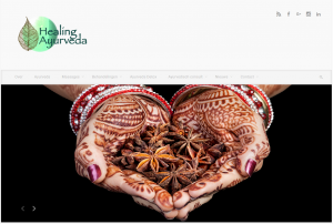 Healing Ayurveda - Website Home